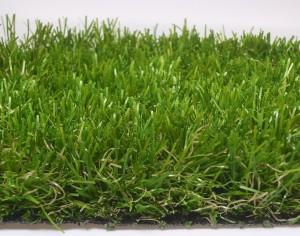 closeup of artificial turf